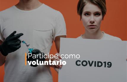 Participe como voluntario